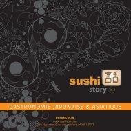 Télécharger la carte - Sushi Story