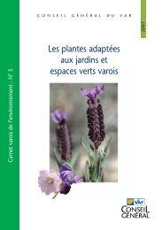 Les plantes adaptées aux jardins et espaces verts varois - Conseil ...