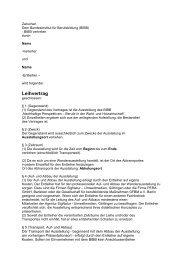 Leihvertrag - BIBB / Berufsbildung für nachhaltige Entwicklung