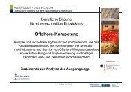 Offshore Kompetenz - BIBB / Berufsbildung für nachhaltige ...