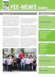 FEE-NEWS 02/2012 - BIBB / Berufsbildung für nachhaltige ...