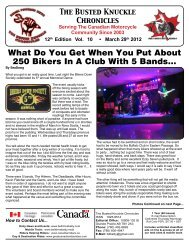 What Do You Get When You Put About 250 Bikers ... - Belt Drive Betty
