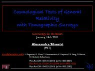 Cosmological Tests of General Relativity with Tomographic Surveys