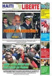 PRÉVAL EN EQUATEUR ! - Haiti Liberte
