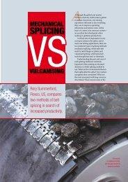 Mechanical Splicing Vs. Vulcanizing - Flexco