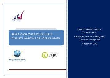 réalisation d'une étude sur la desserte maritime de l ... - Economy