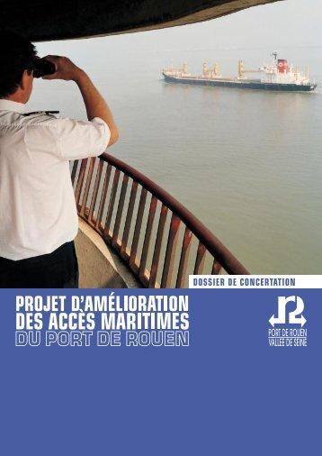 DOSSIER DE CONCERTATION - Port de Rouen