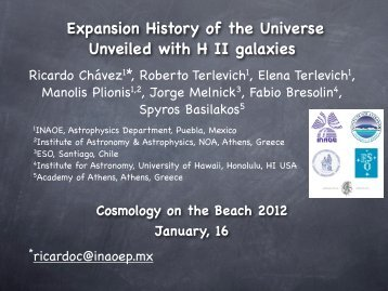 Expansion History of the Universe Unveiled with H II galaxies