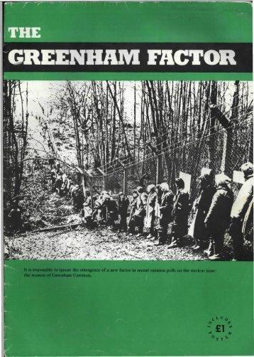The Greenham Factor