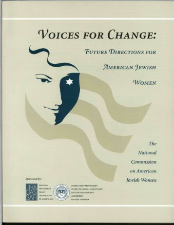 VOICES FOR CHANGE: - Barnard Center for Research on Women ...