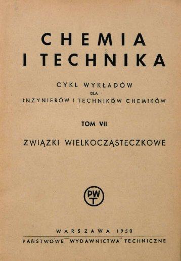 CHEMIA I TECHNIKA