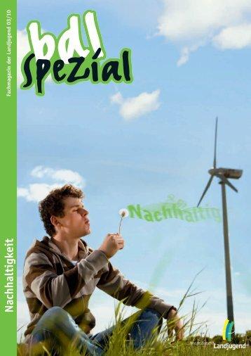 Heft 3/2010 - Bund der Deutschen Landjugend