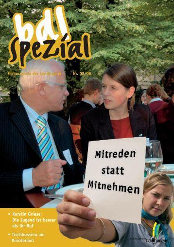 Heft 2/2006 - Bund der Deutschen Landjugend