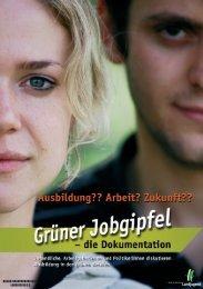 Grüner Jobgipfel - die Dokumentation - Bund der Deutschen ...