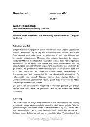 BR-Drucksache 41/11 - Bucerius Law School