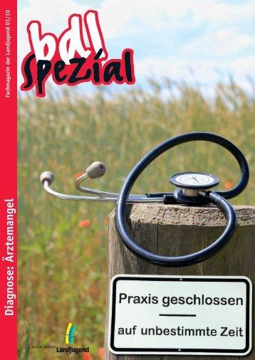 Diagnose: Ärztemangel - Bund der Deutschen Landjugend