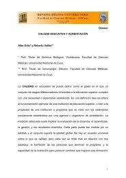 1 Dossier CALIDAD EDUCATIVA Y ACREDITACIÓN Alba Ortiz* y ...