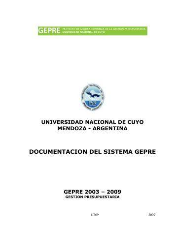 ARQUITECTURA DEL SIU - Universidad Nacional de Cuyo