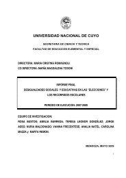 """Proyecto de investigación """"Desigualdades sociales y educativas en ..."""