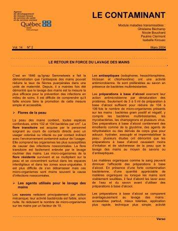Vol. 14, no 2 - Agence de santé et de services sociaux de l'Abitibi ...