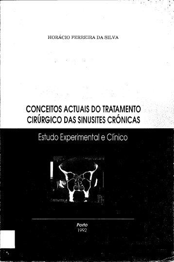 conceitos actuais do tratamento cirúrgico das sinusites crónicas