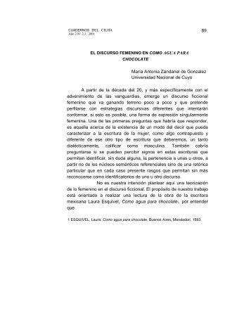 AGUA PARA - Universidad Nacional de Cuyo