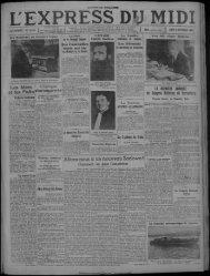 lundi 4 septembre 1933 - Bibliothèque de Toulouse