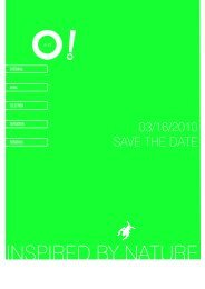 03/16/2010 SAVE THE DATE - matériO
