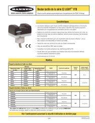 Bouton tactile de la série EZ-LIGHT™ VTB - BannerSalesForce