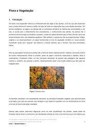 Flora e Vegetação - Agrupamento de Escolas de Loriga