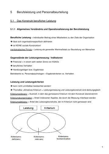 Fehlerquellen der Personalbeurteilung - economics.phil.uni ...