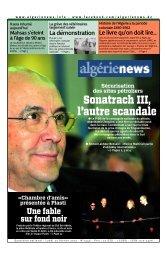 Fr-25-02-2013 - Algérie news quotidien national d'information