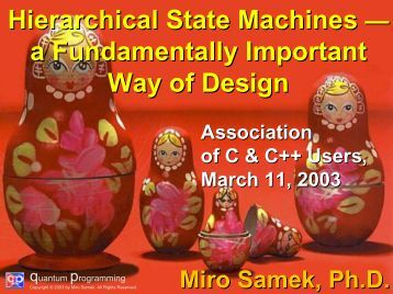 hierarchical state machine