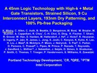 Intel 45nm Process Overview - UCSB CAD & Test
