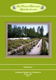 Collections Protégées et MEILLAND - Les Rosiers Belmontais