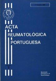1983 Volume VIII, 1, 1º Trimestre - Acta Reumatológica Portuguesa