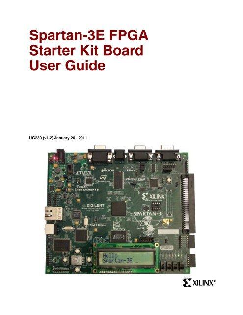 XC3S500E Spartan-3E XILINX FPGA Evaluation Development Board XC3S500E Core Kit