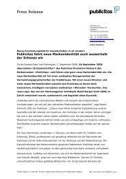 Press Release - Publicitas AG