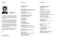 Grußwort Programm Programm - Bundesverband der ...