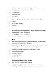 MC-Quiz Messen und Testen - Beabea-Blog