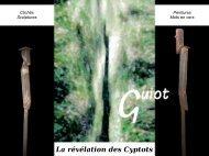 Catalogue de Jean-Marc Guiot - Le Pradet