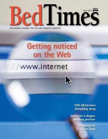 Getting noticed on the Web - BedTimes