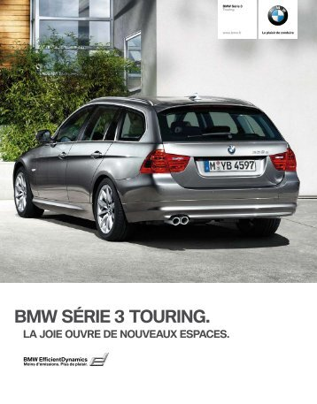 BMW SÉRIE 3 TOURING. - JPC Automobile