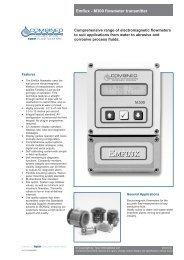 Emflux - M300 flowmeter transmitter