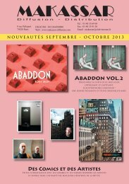 Nouveautés Septembre octobre 2013 - Makassar