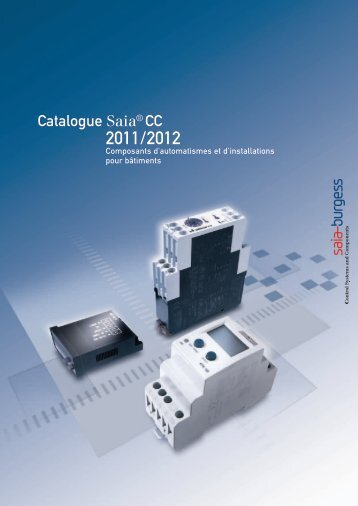 Catalogue Saia® CC - SBC-support