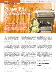 Beragam Jenis Application Server - Bebas