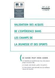 guide du Ministère de la Jeunesse et des Sports - PLANET ...
