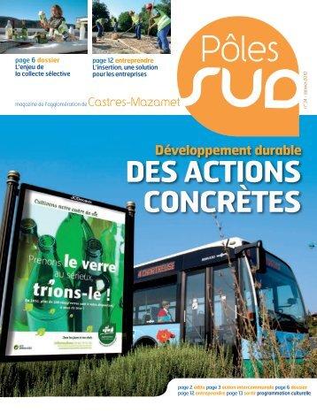 Pôles - Communauté d'agglomération de Castres-Mazamet