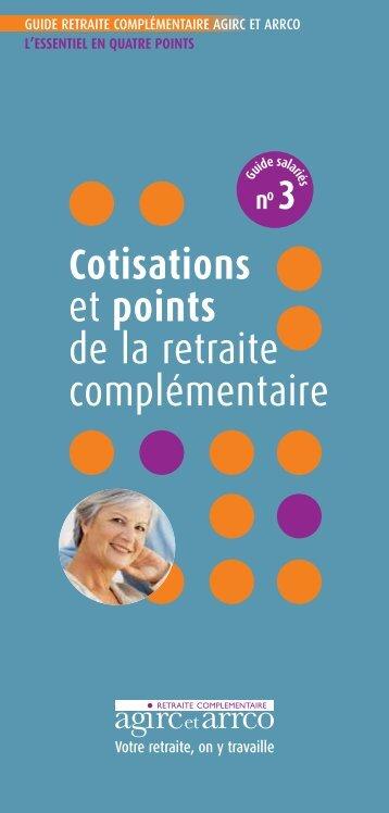 Cotisations et points retraite - Vauban Humanis